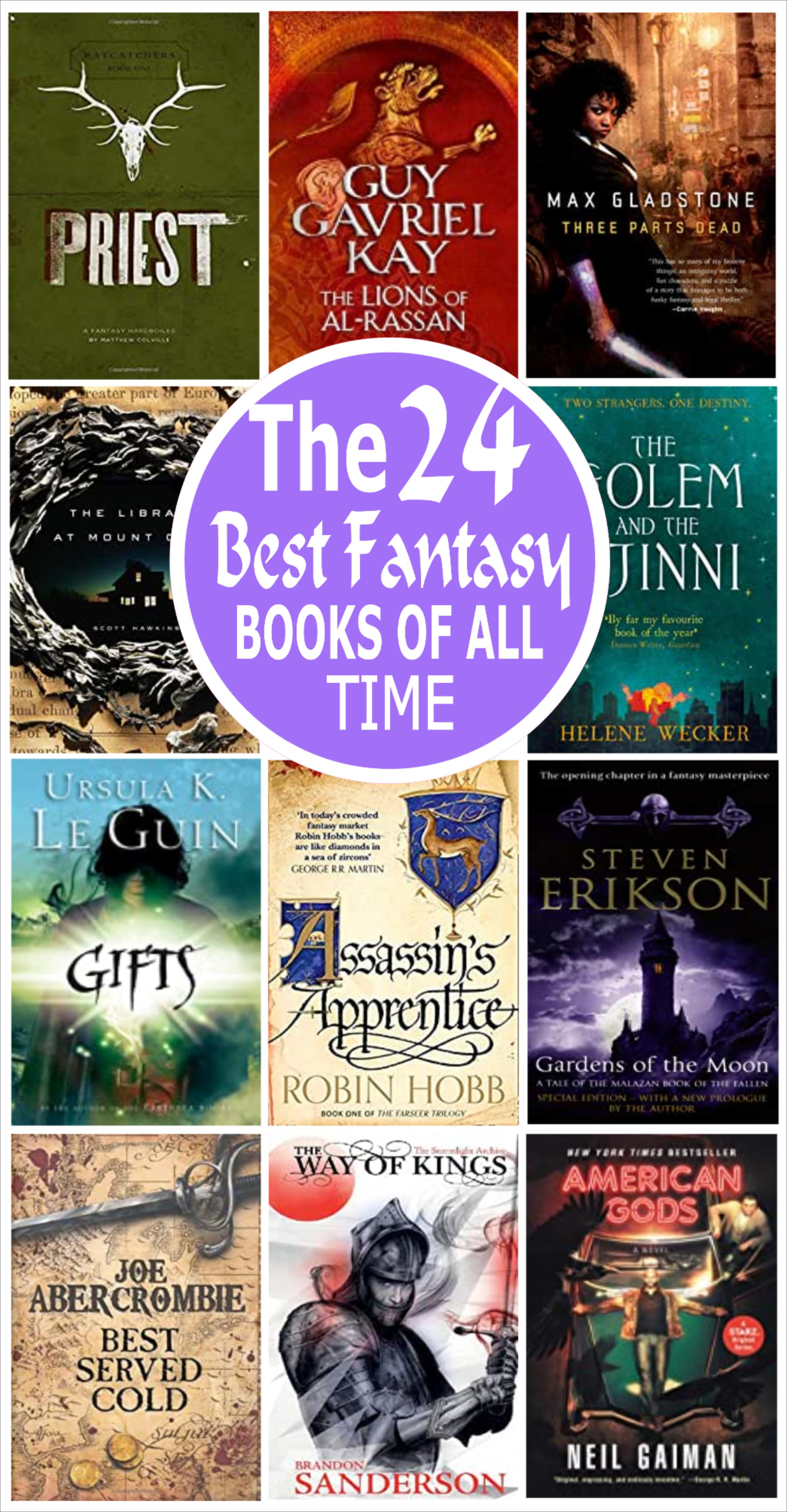The Greatest of the Great: 50 of the Best Fantasy Books Ever Written