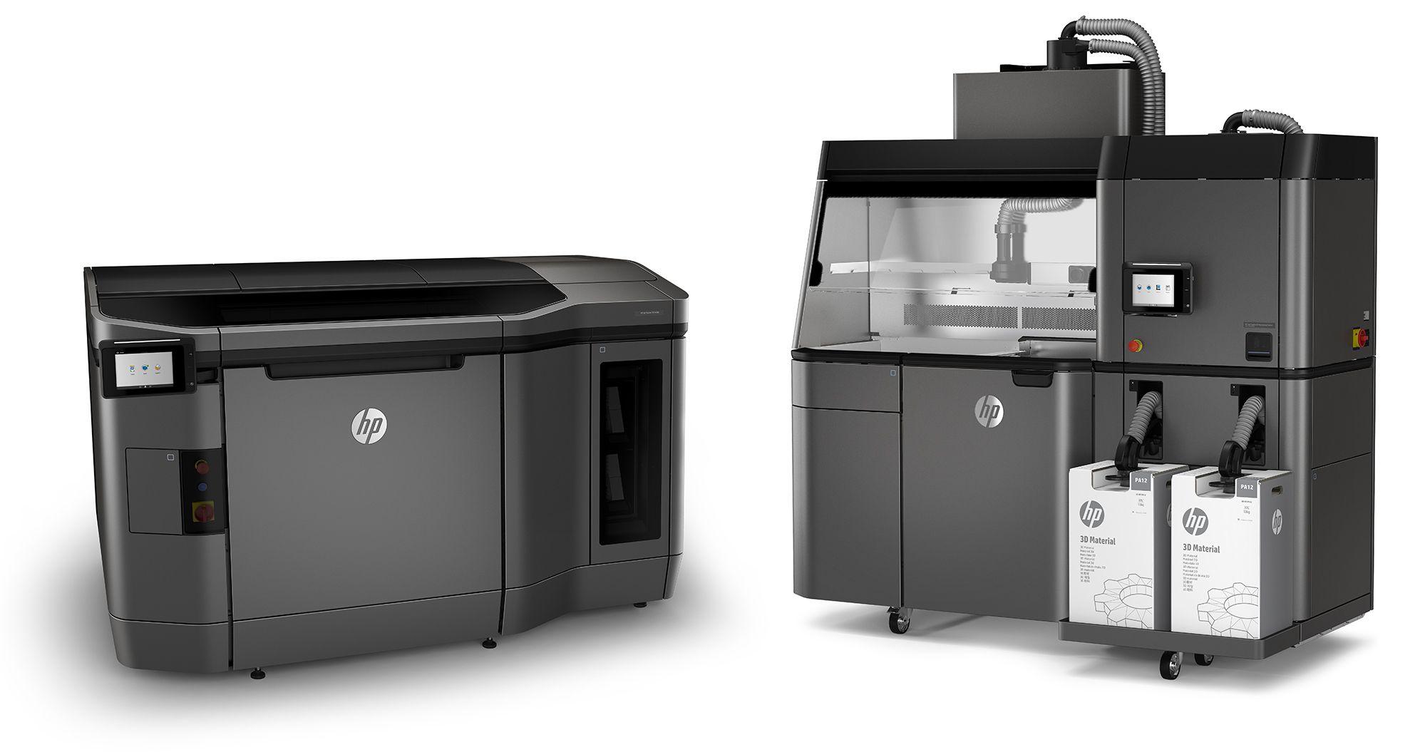 HP JetFusion 3D: Materialdrucker für die Industrie