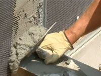 How to stucco a wall home improvement projects in 2019 - How to repair stucco exterior wall ...