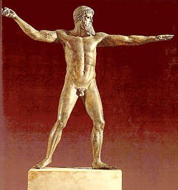 Poseidón. Escultura GRECIA  a62054bb9ebe