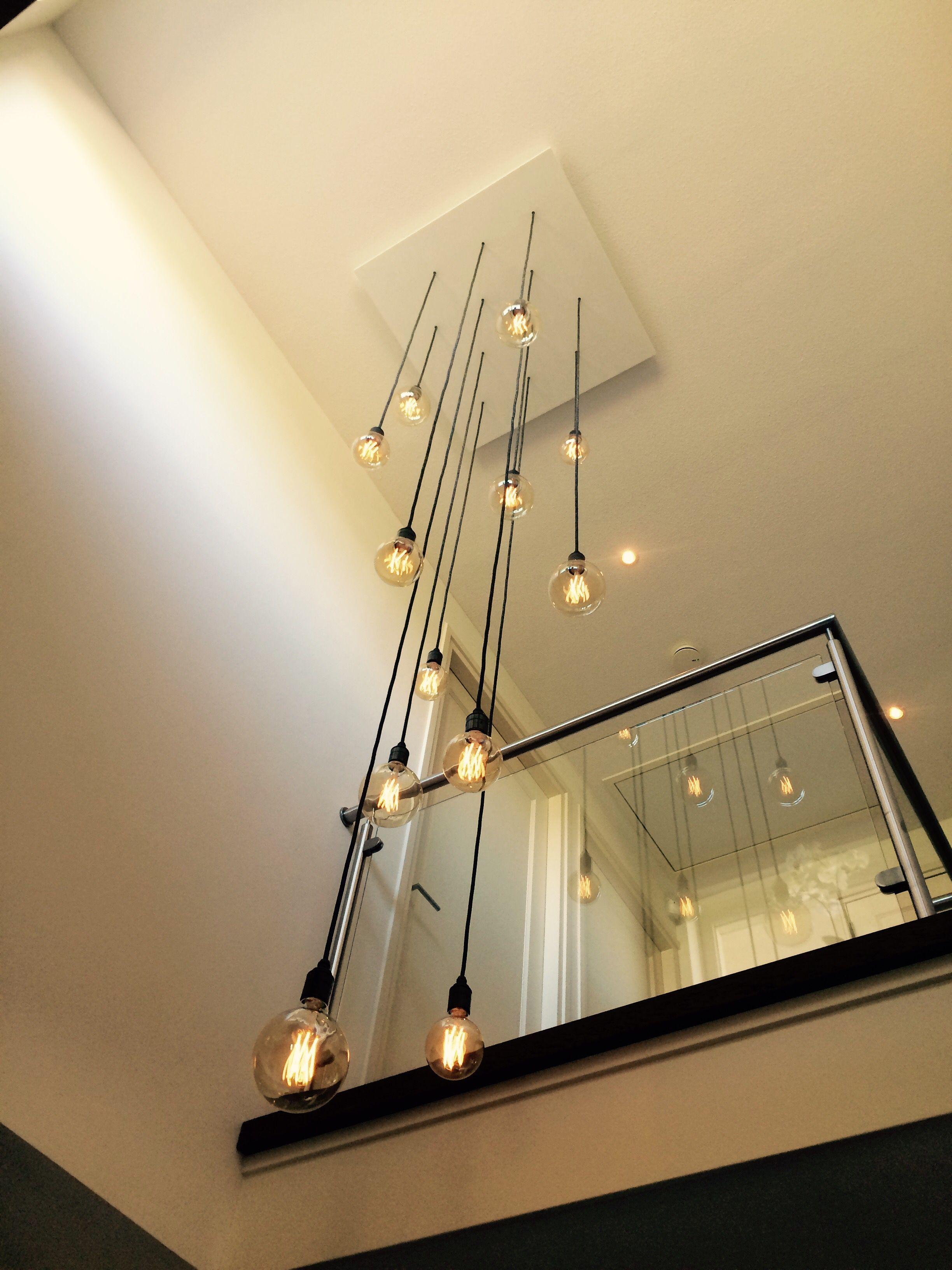 Hanglamp Vide In 2020 Stairway Lighting Staircase Lighting