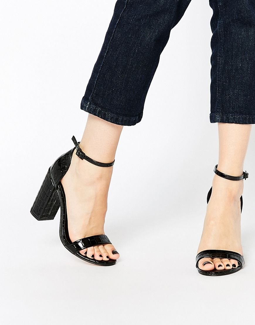 Buy Women Shoes / Asos Here Goes Heeled Sandals