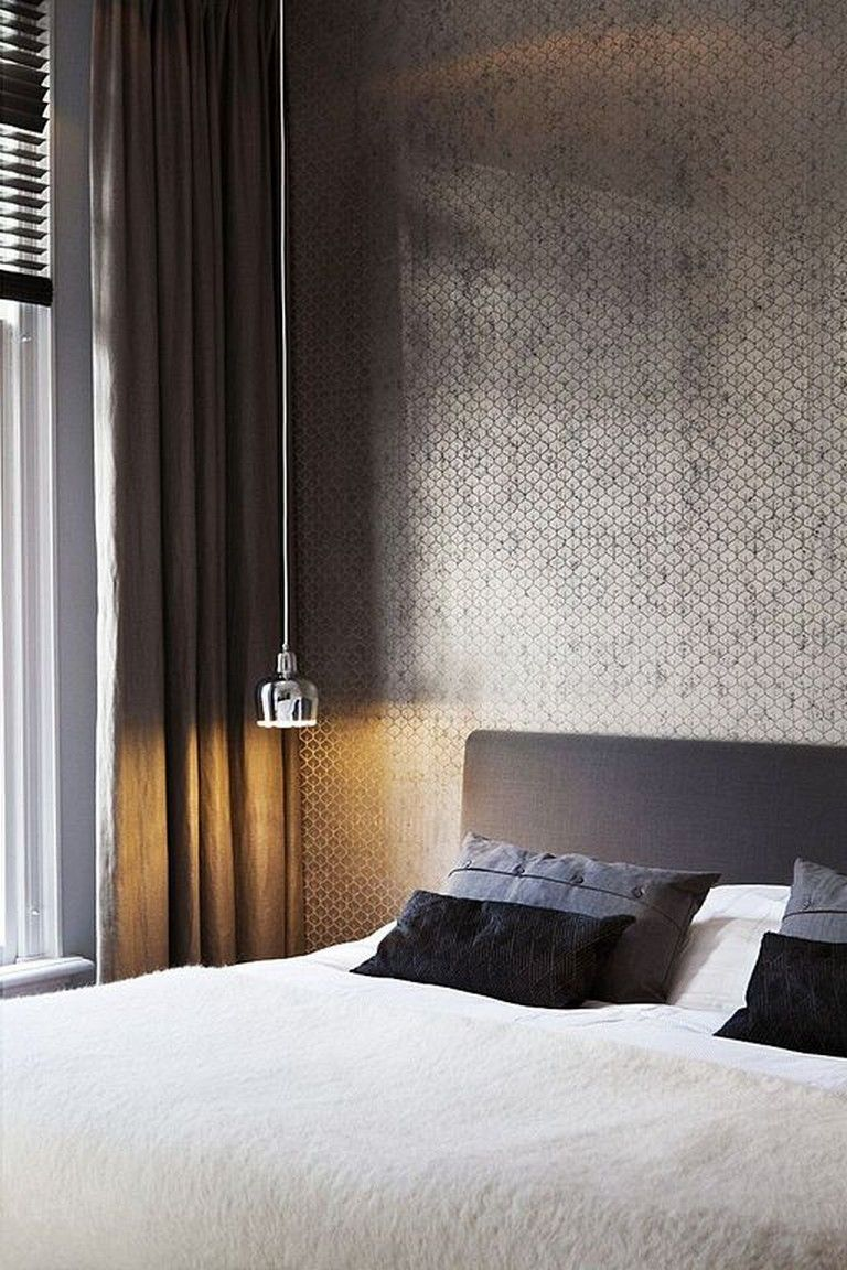 exciting gold brown bedroom decorating ideas | 30+ Exciting Hanging Lamps Decor Ideas For Luxury Bedroom ...