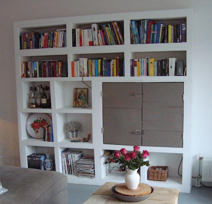 kast gasbeton woonkamer pinterest life space shelves and