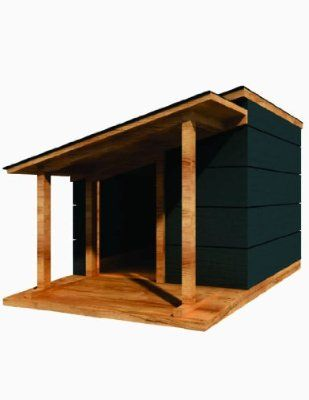 36 X 48 Dog House Plans Lean To Roof Pet Size To 100 Lbs