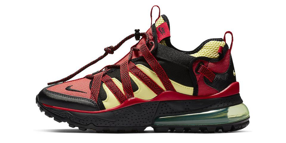 Nike S Air Max 270 Bowfin Surfaces In University Red Light Citron Nike Air Max Air Max 270 Nike Air