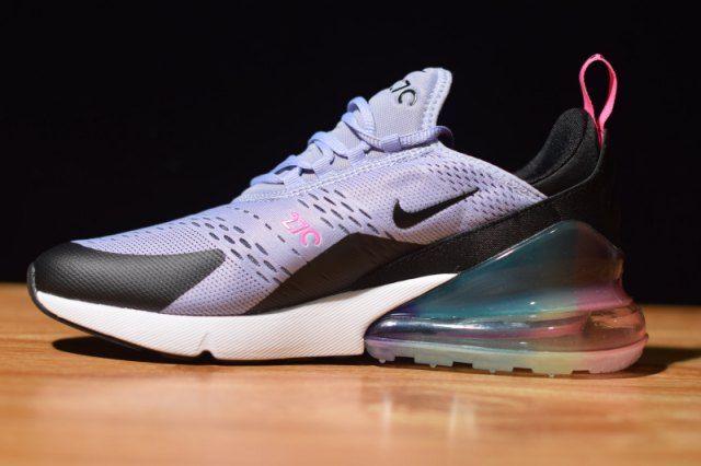 Women's Nike Air Max 270 Be True Purple Dawn Pink Blast