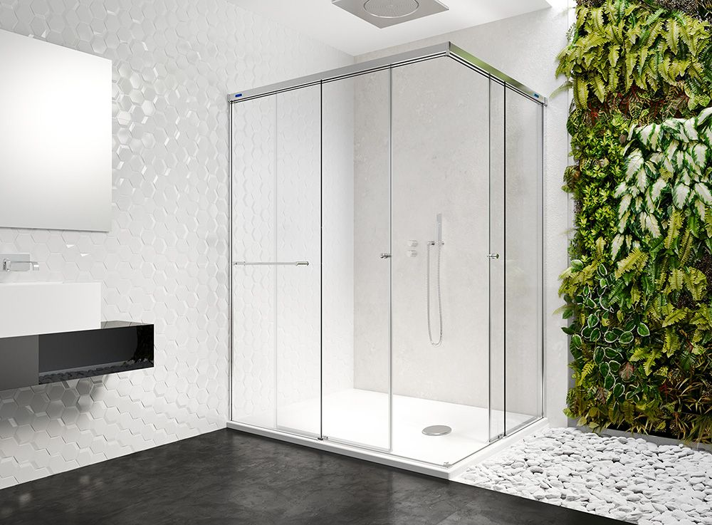Mampara Duscholux | Mamparas para duchas, Decoracion baños ...