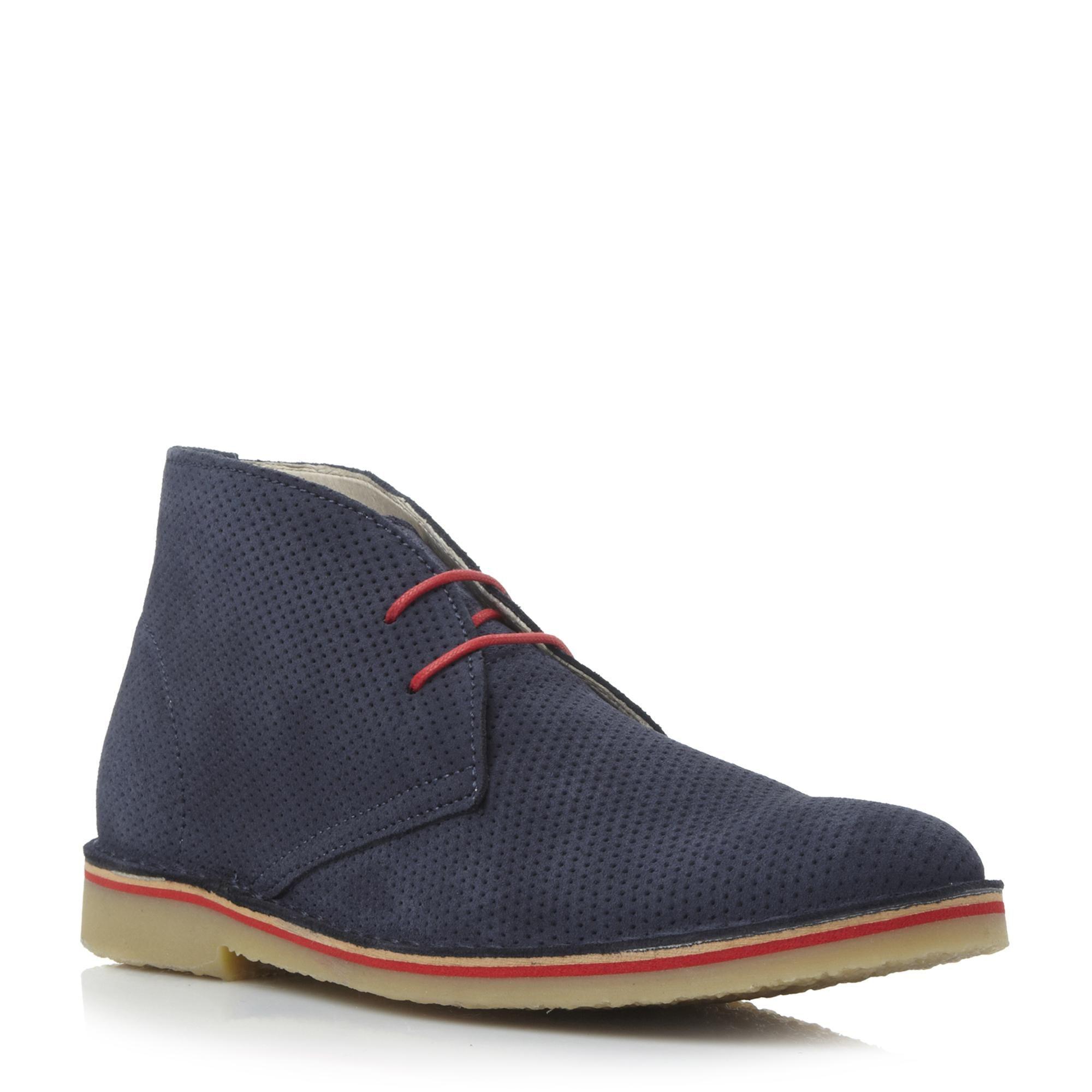 Hogan Jute Unique Desert Boots - Marron jDzrI