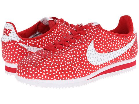 official photos on feet at innovative design Nike Classic Cortez Print University Red/Wolf Grey/White ...