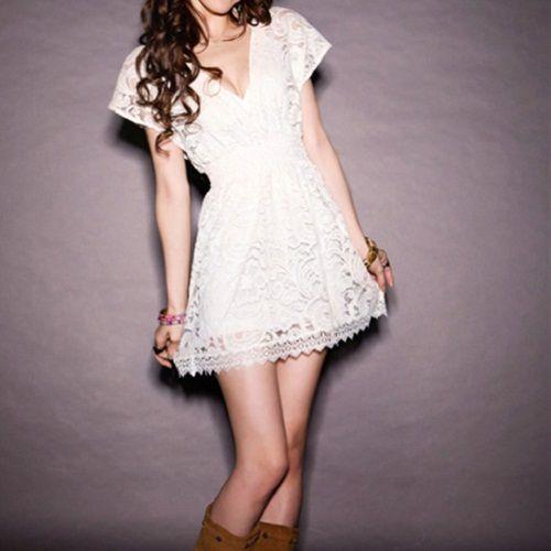 Short boho wedding dress style | Wedding | Pinterest | Wedding dress ...