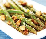Stop & Shop Asparagus with Macadamia Nuts- Dinner 5/10/2012