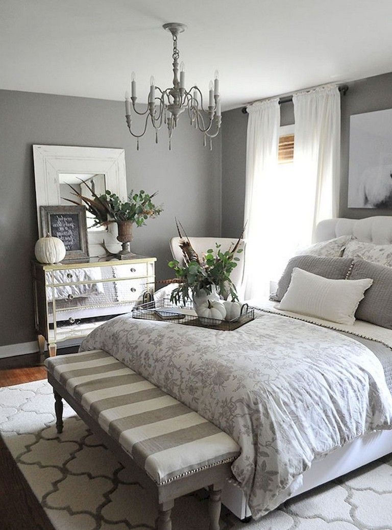 51+ Inspiring Small Master Bedroom Decor Ideas and Remodel images
