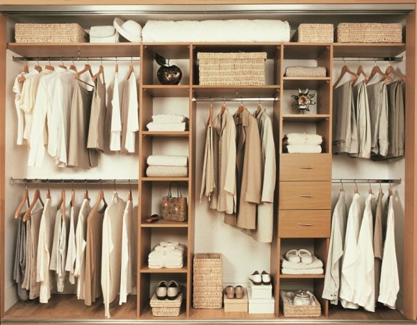 Etonnant Open Wardrobe Systems Easily Compact