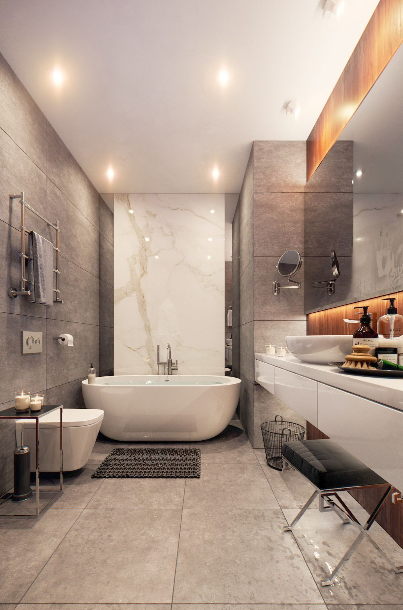 Landscape Gardening And Design With Plants Half Modern Landscape And Design Medford Ny Modern Master Bathroom Bathroom Design Trendy Bathroom