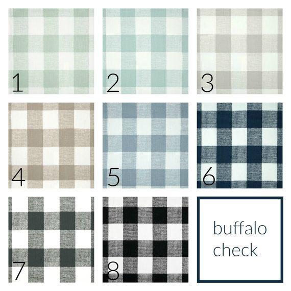 off sale buffalo check drapery panels