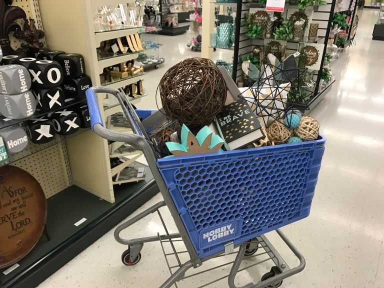 dont miss the twice a year home accents clearance sale store hacks - Hobby Lobby Christmas Clearance
