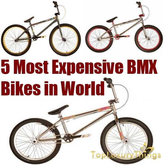 5 Most Expensive Bmx Bikes In The World Bmx Bikes Bmx Best Bmx