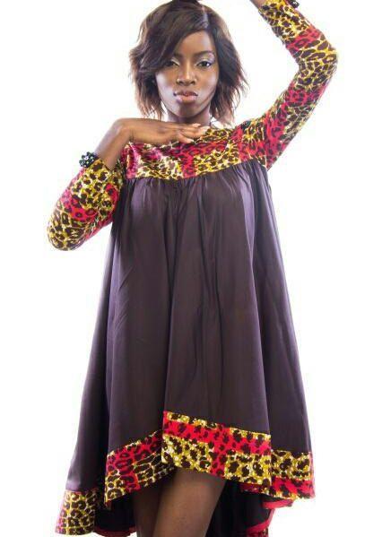 Super Robe/Wax africain flare robe africaine dames usure/tendance design  DM78