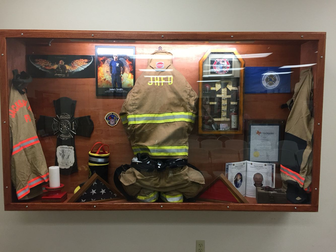 Shadow Box Fire Fighter Wiring Diagrams To 9v Converter Circuit Diagram Nonstopfree Electronic Circuits Made For A Fallen Firefighter In My Department Home Rh Pinterest Com Fighters Arcade Fight 3