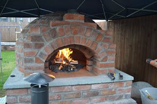 Pizza Oven Tuin : Mikes brick pizza oven: my oven build. this is a good picture