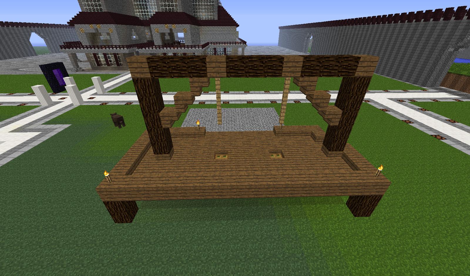 Amazing Minecraft Building Ideas: Gallows