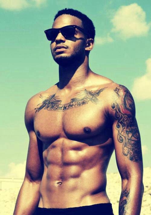 Sexy light skin black men