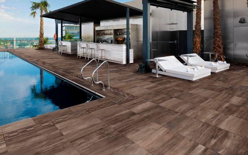 suelo porcel nico de imitaci n madera para exterior