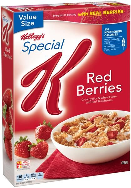 Save 50 On Special K Red Berries Cereal Special K Red Berries Berry Breakfast Special K Cereal