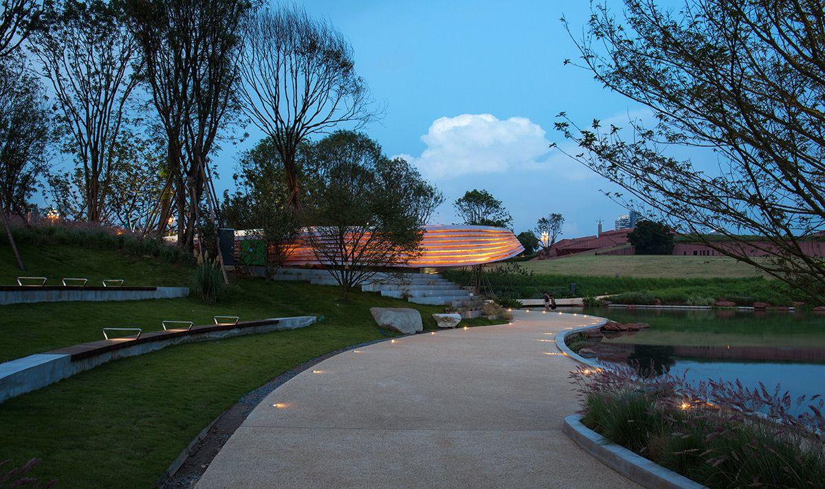 Luhu Art & Sculpture Park Chengdu, China GVL (Gossamer