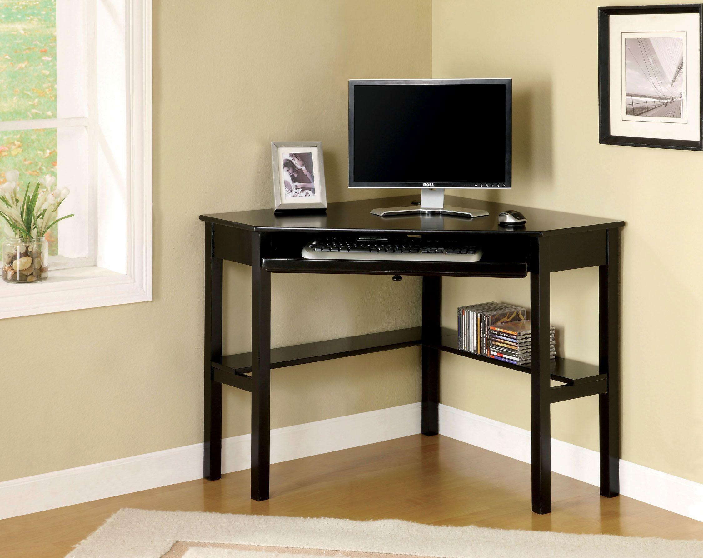 Home In 2020 Black Corner Desk Computer Desks For Home Black Corner Computer Desk