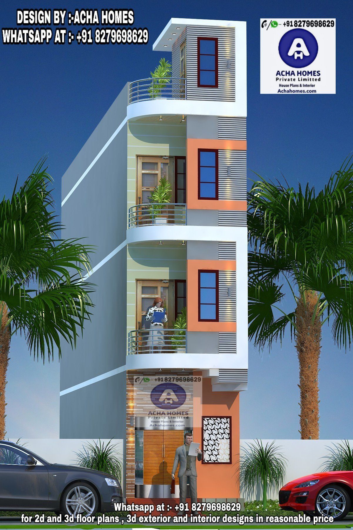 Free Modern House Plans 3d Top Indian 3d Front Elevation Modern Home Design 4 Bh Architecture