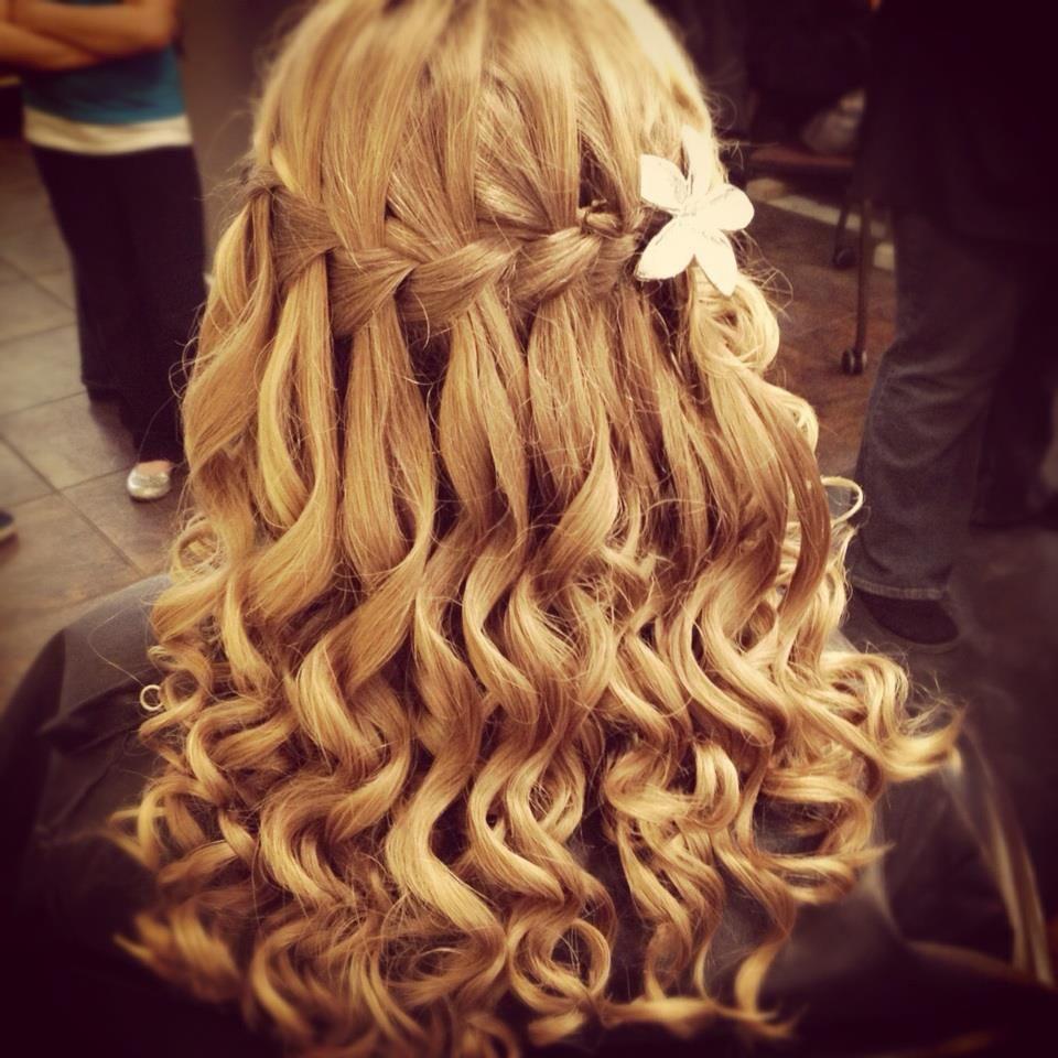 Love the braid and curls wedding hair pinterest formal hair