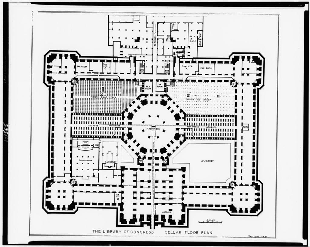 Alterations to the Library of Congress Thomas Jefferson