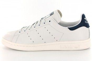 ADIDAS STAN SMITH NEO WHITE COBALT - Adidas Stan smith - Femme