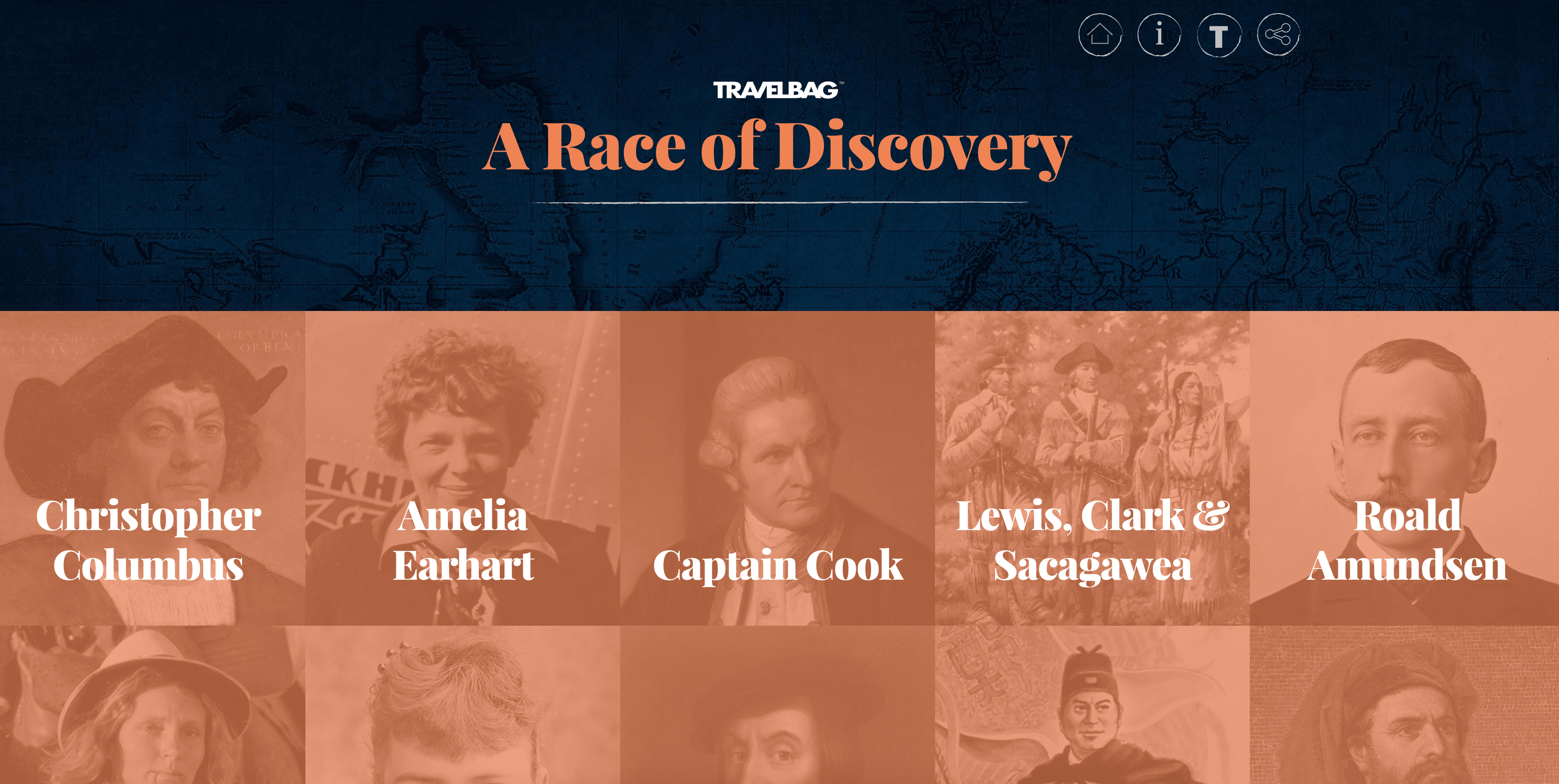 Follow In The Footsteps Of Famous Explorers With Travelbag