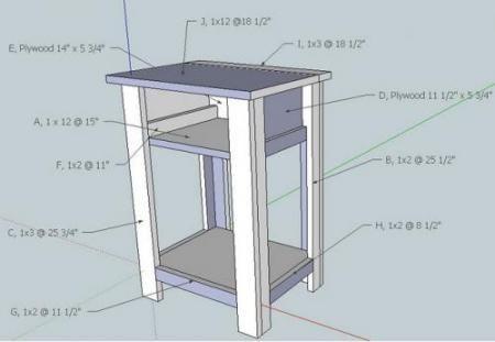 Best Build A Simple Nightstand Nightstand Plans Diy 400 x 300