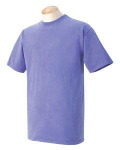 Comfort Colors C1717 Men S Ringspun Garment Dyed T Shirt Dye T