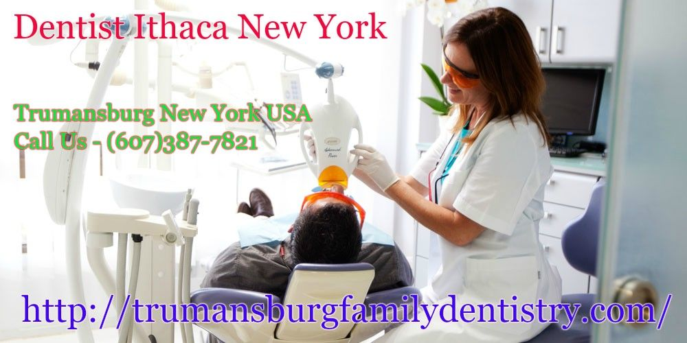 Dentist ithaca New York. If the kid has cavities, they'll