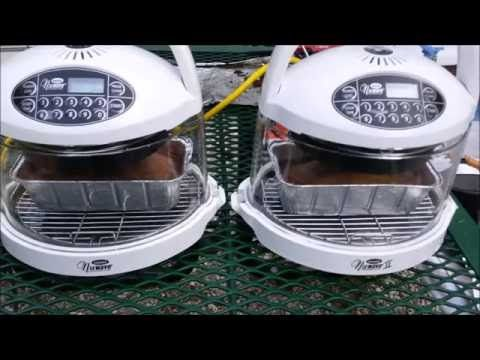 RV NuWave Oven Cooking - Banana Bread & Testing Thrift Store NuWave Mini