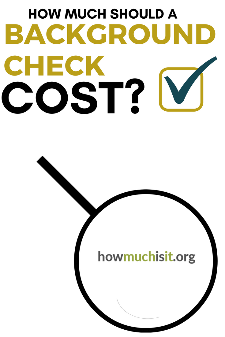 How Much Does A Background Check Cost We Broke Down The Most Popular Companies And Included The Costs Background Check Cost Background