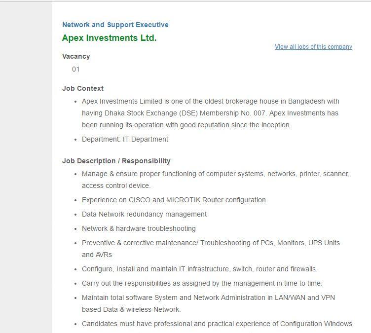 hayes haier appliances co ltd sales executive job circular