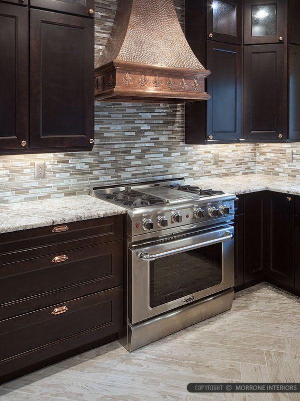 Brown Metal Glass Mixed Mosaic Kitchen Backsplash Tile Kitchen Tiles Backsplash Mosaic Backsplash Kitchen Kitchen Remodel Cost
