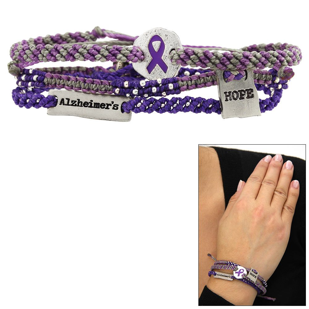 Guatemalan Hope For A Cure Alzheimer S Bracelets Set Of 3 At The Site