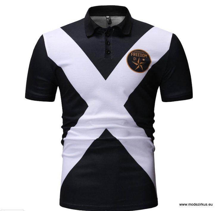Freedom Poloshirt für Herren Schwarz #herrenmode #sakko # ...