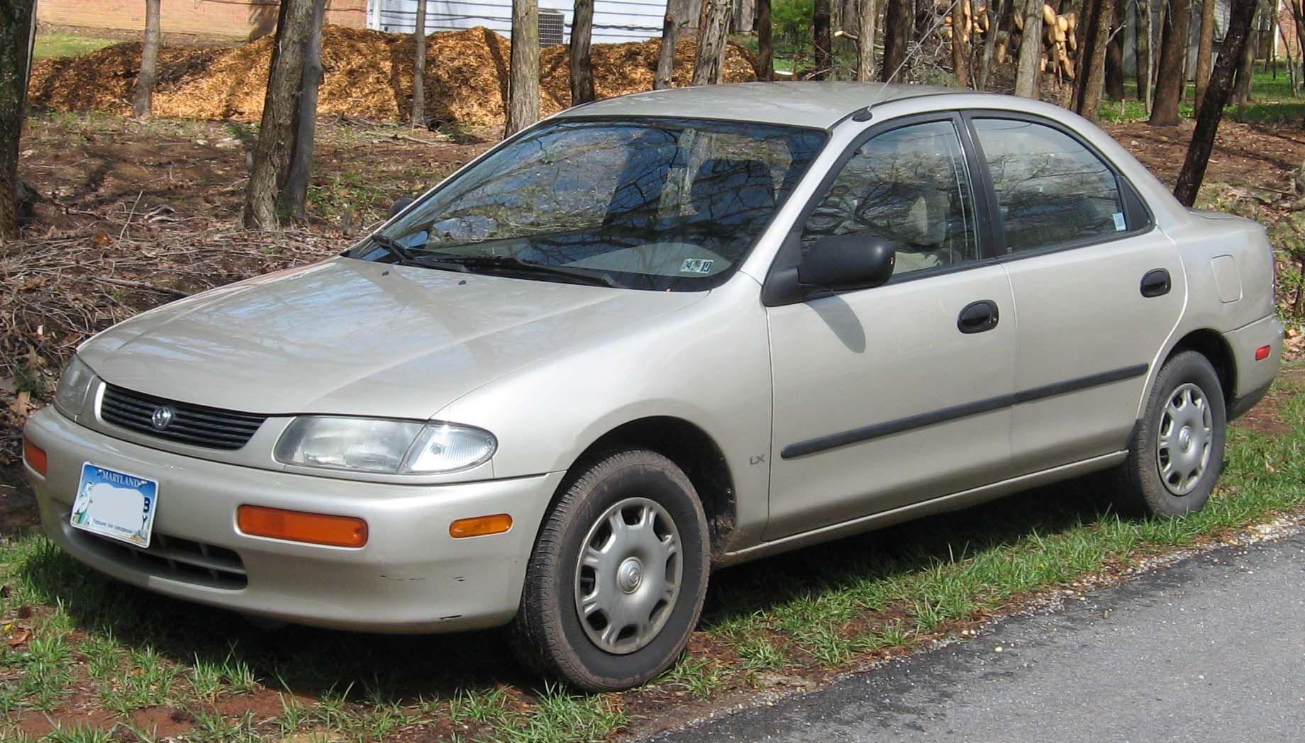 File 1995 1996 Mazda Protege Lx Jpg Mazda Protege Mazda Mazda Cars