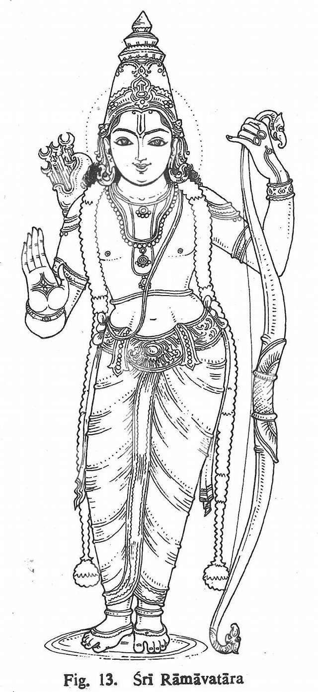 shri ram (With images)   Hindu art, Krishna art, Indian ...