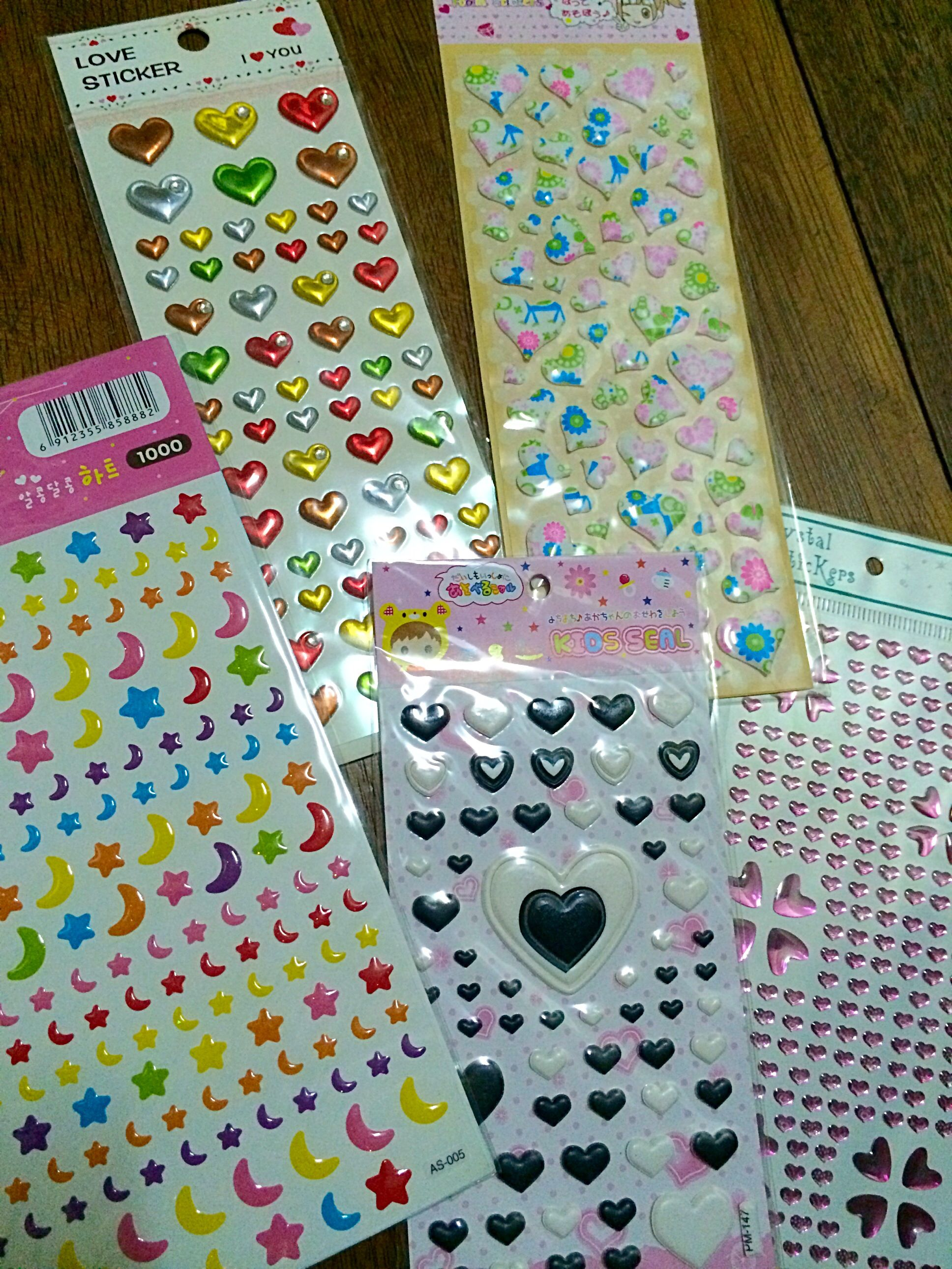 Puffy Stickers Php For Sheets Divisoria Finds July - Wall decals divisoria