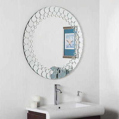 Mirrors 133693: Decor Wonderland Ssd005 Circles Bathroom Mirror  U003e BUY IT  NOW ONLY: