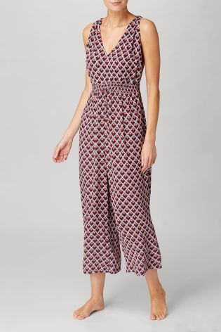 03481875d66b Buy Navy Red Culotte Jumpsuit from the Next UK online shop ...